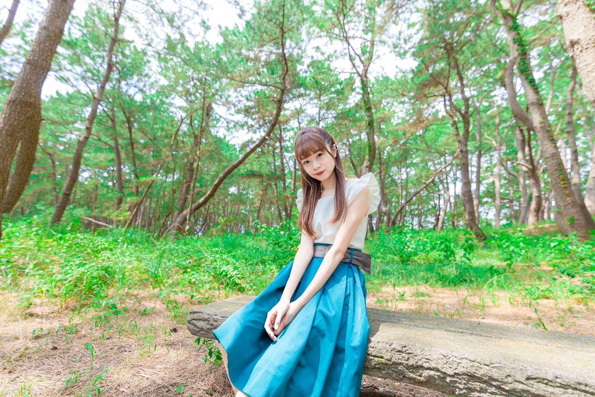 Vol.21♡ 【2017秋コーデ】身長150cm台が着こなす《フレアースカート》_1_3
