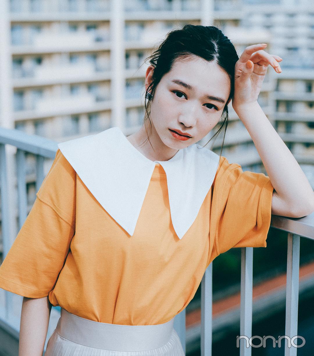 『岡本夏美』のモデルカット4-2