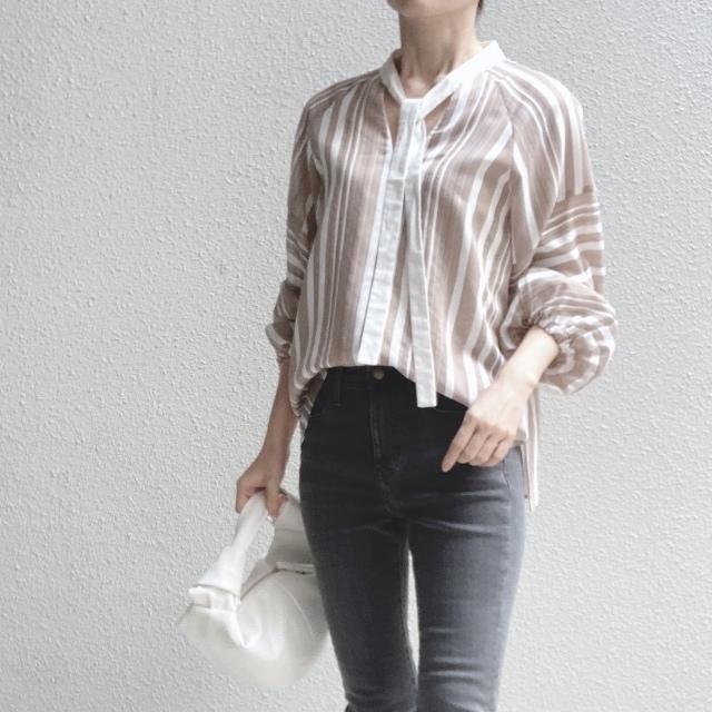 この春のHIT服「シャツ」をアラフォーはこう着る!最旬シャツコーデまとめ|40代ファッション_1_32
