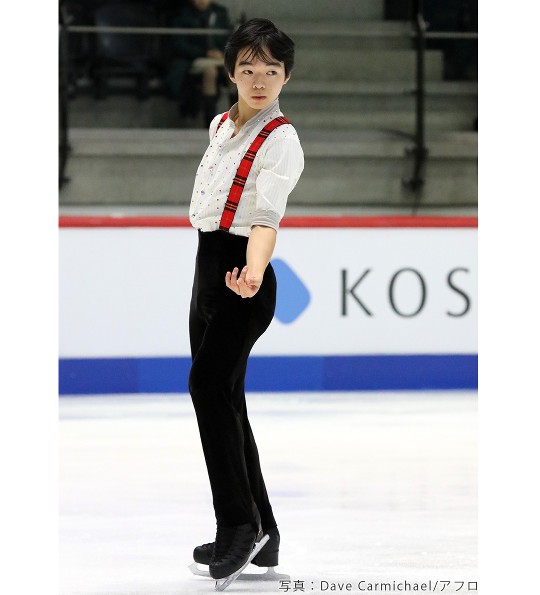 2020年フィギュアスケート世界ジュニア選手権に出場した鍵山優真選手2