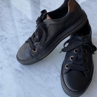 ドイツのブランド【ara】黒スニーカー