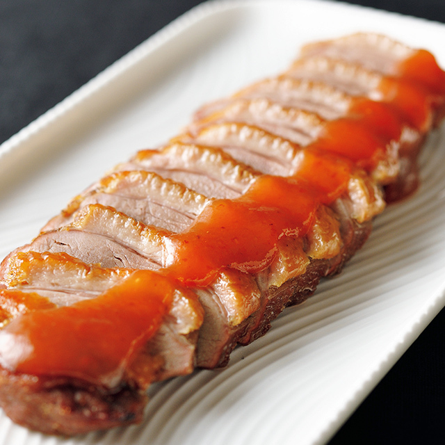 「合鴨のロースト 梅肉ソース」230g ¥2,700