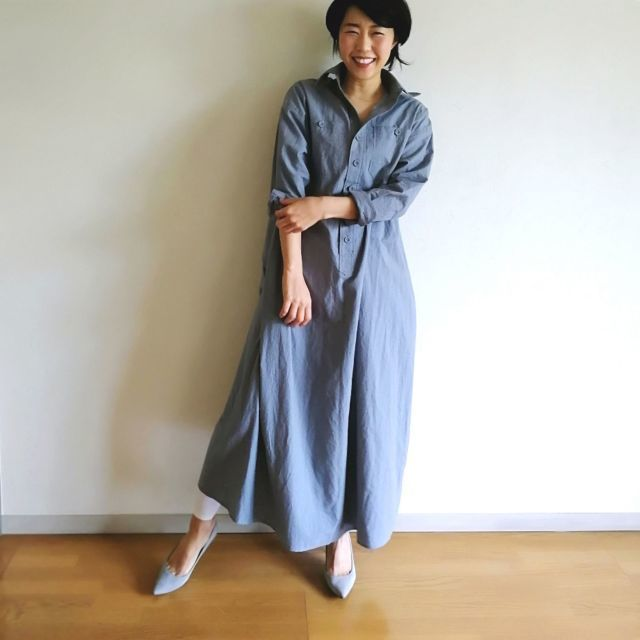 春に使える!シャツワンピース【マリソル美女組ブログPICK UP】_1_1-3