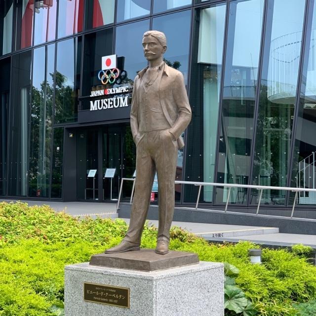 オリンピックの父(ピエール・ド・クーベルタン像)