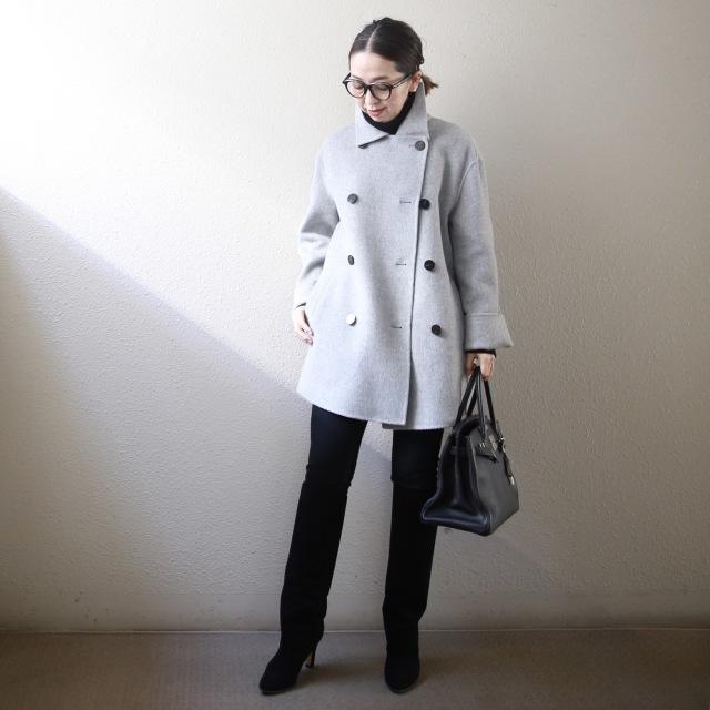 身長低めさんに嬉しいトレンド「ショート丈コート」! 今年の特徴&着こなしのコツは?【小柄バランスコーデ術#02】_1_7