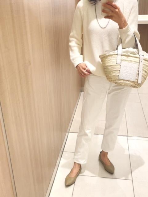 【ユニクロ】私の次世代パンツはホワイトテーパードデニム_1_1-1