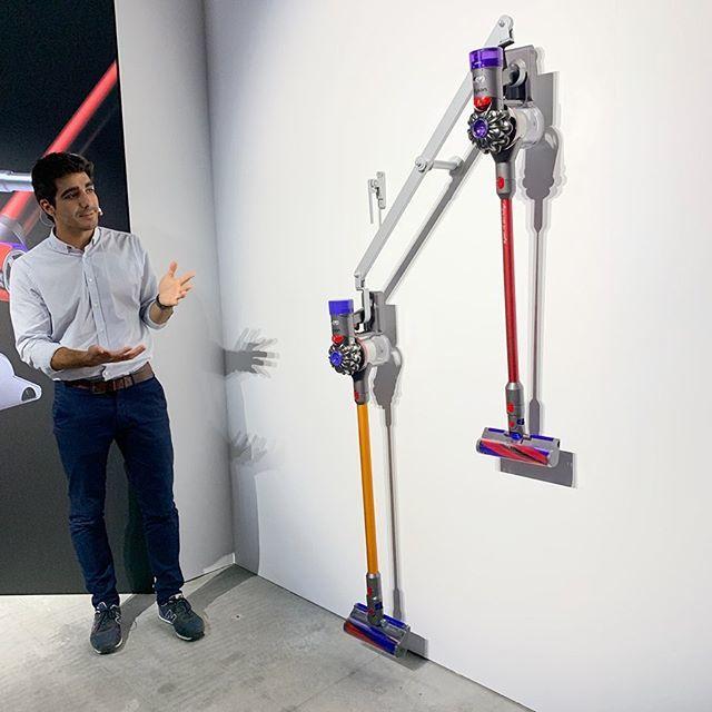 日本の住環境のために開発された新製品「Dson V8 Slim コードレスクリーナー」_1_2