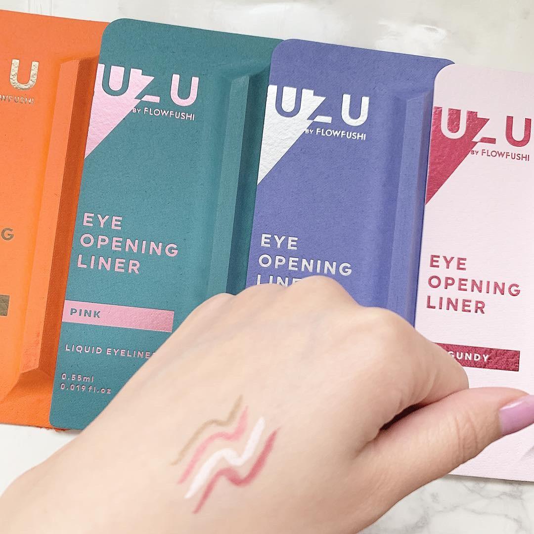 【新ブランド】UZUのアイライナーを使った絶対失敗しない春メイク!  _1_1