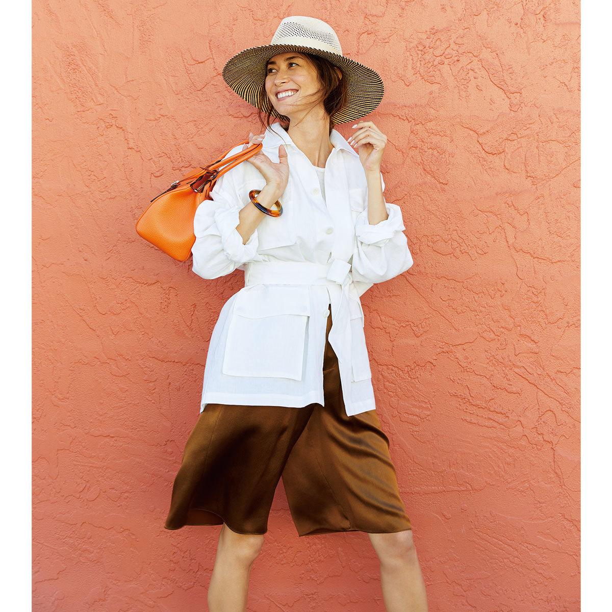 ブレンダが着る大人が目指したい5つのカジュアルスタイル_ヘルシーカジュアル