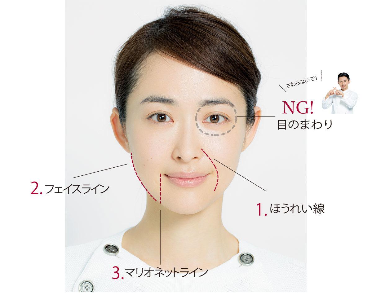 1日1回を習慣に。小田切ヒロの「小顔を作るマッサージ」_1_2
