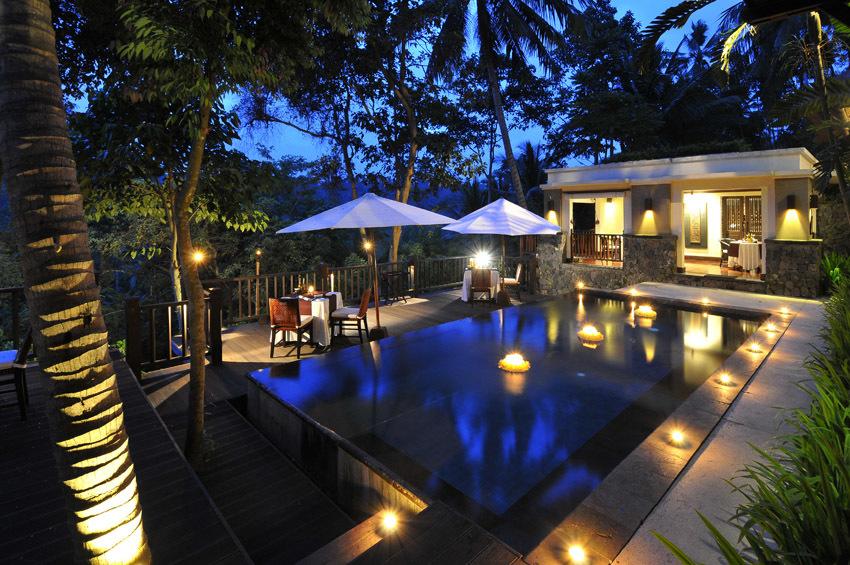 見事な熱帯の庭園 カユマニス ウブド 【インドネシアのお薦めホテル】_1_2
