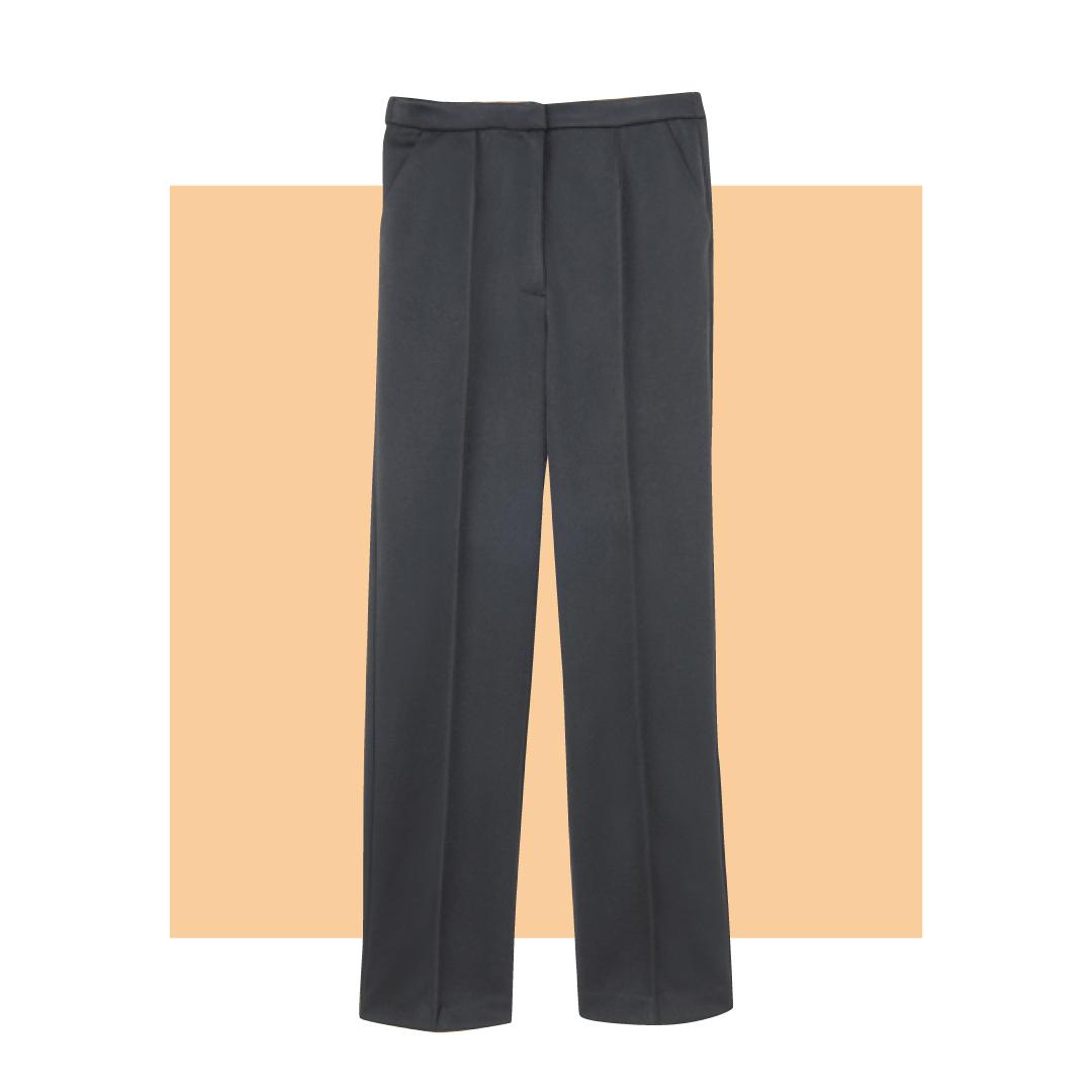 黒パンツのオンオフ着回し★ きれいめ&今っぽの2通りコーデ【20代オフィスカジュアル】_1_2