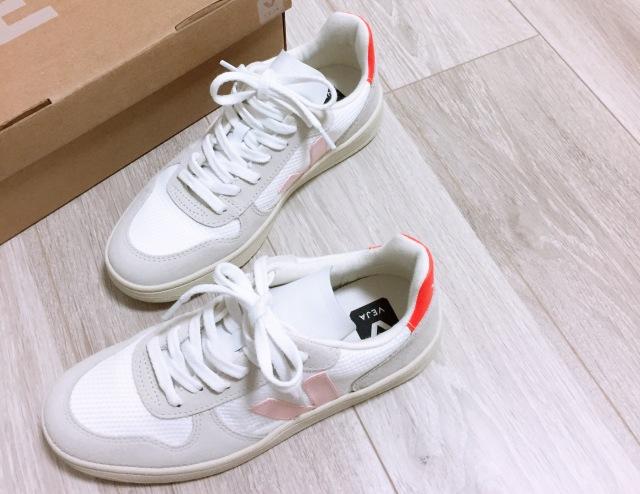 大人の白スニーカー更新☆VEJA【momoko_fashion】_1_1