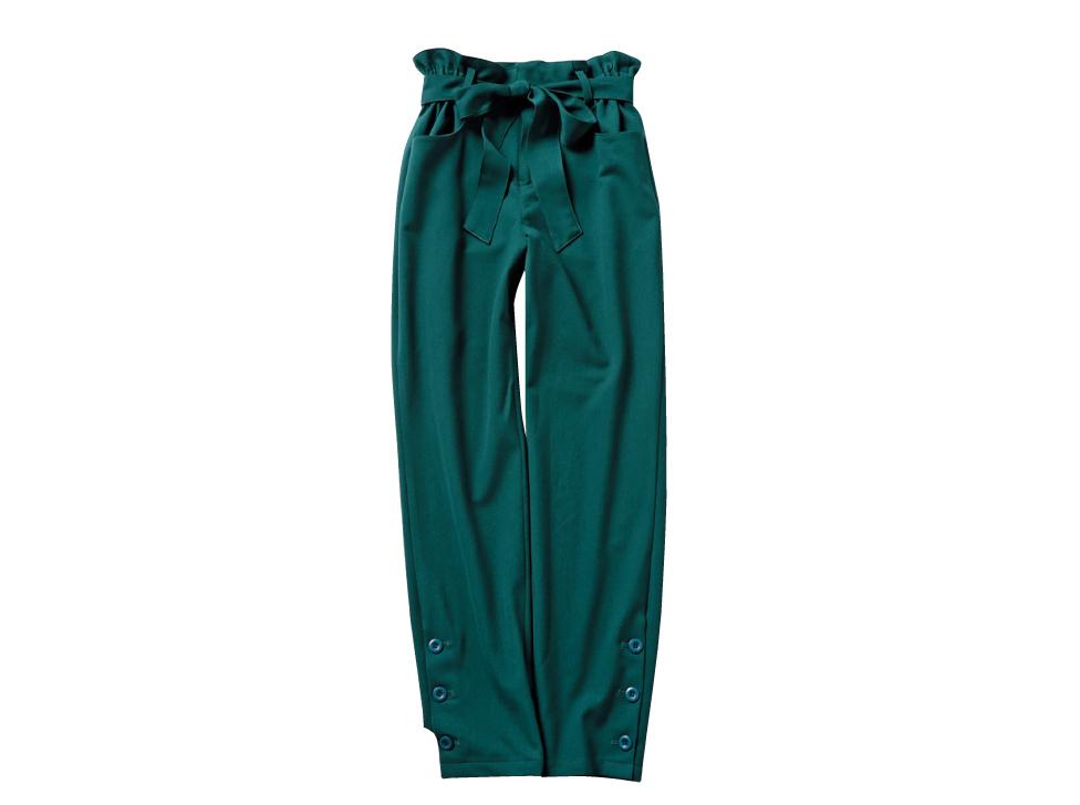 新木優子は、グリーンのスカートで秋コーデにシフト!_1_2-4