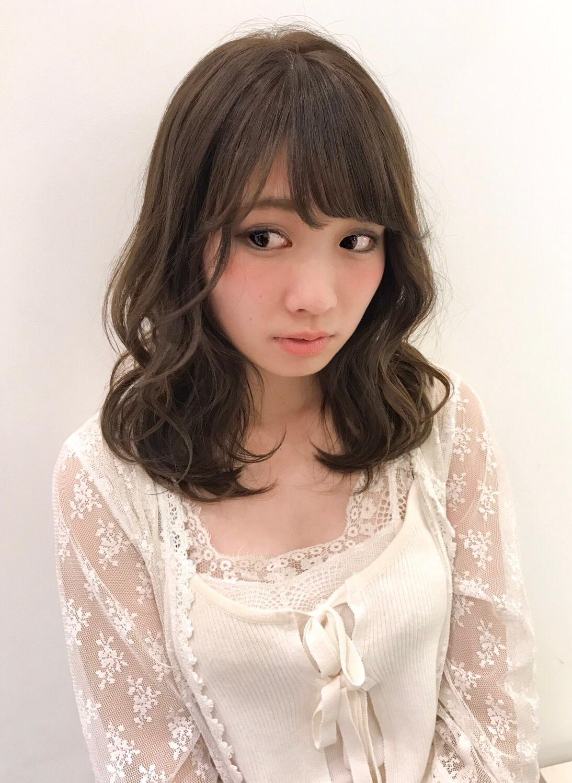 Newヘアカラー♡オリーブベージュSHIMA_1_3