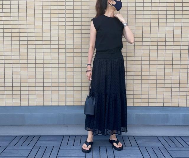夏真っ盛りの今、クローゼットを整理して夏服を見直す【40代 私のクローゼット】_1_5