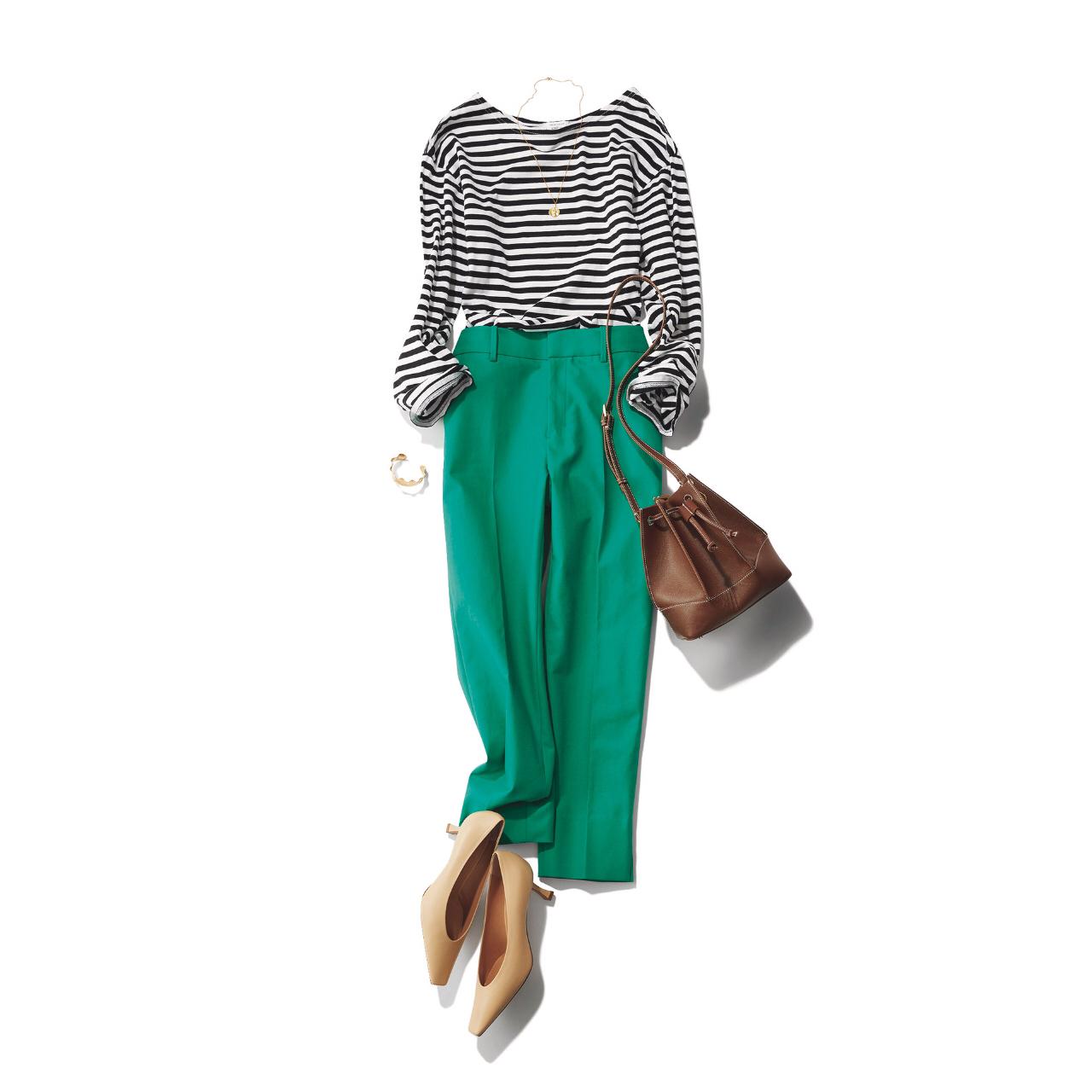 この春、きれい色を楽しむなら「カラーパンツ」がマスト! 40代に似合うカラーパンツ総まとめ|アラフォーファッション_1_11