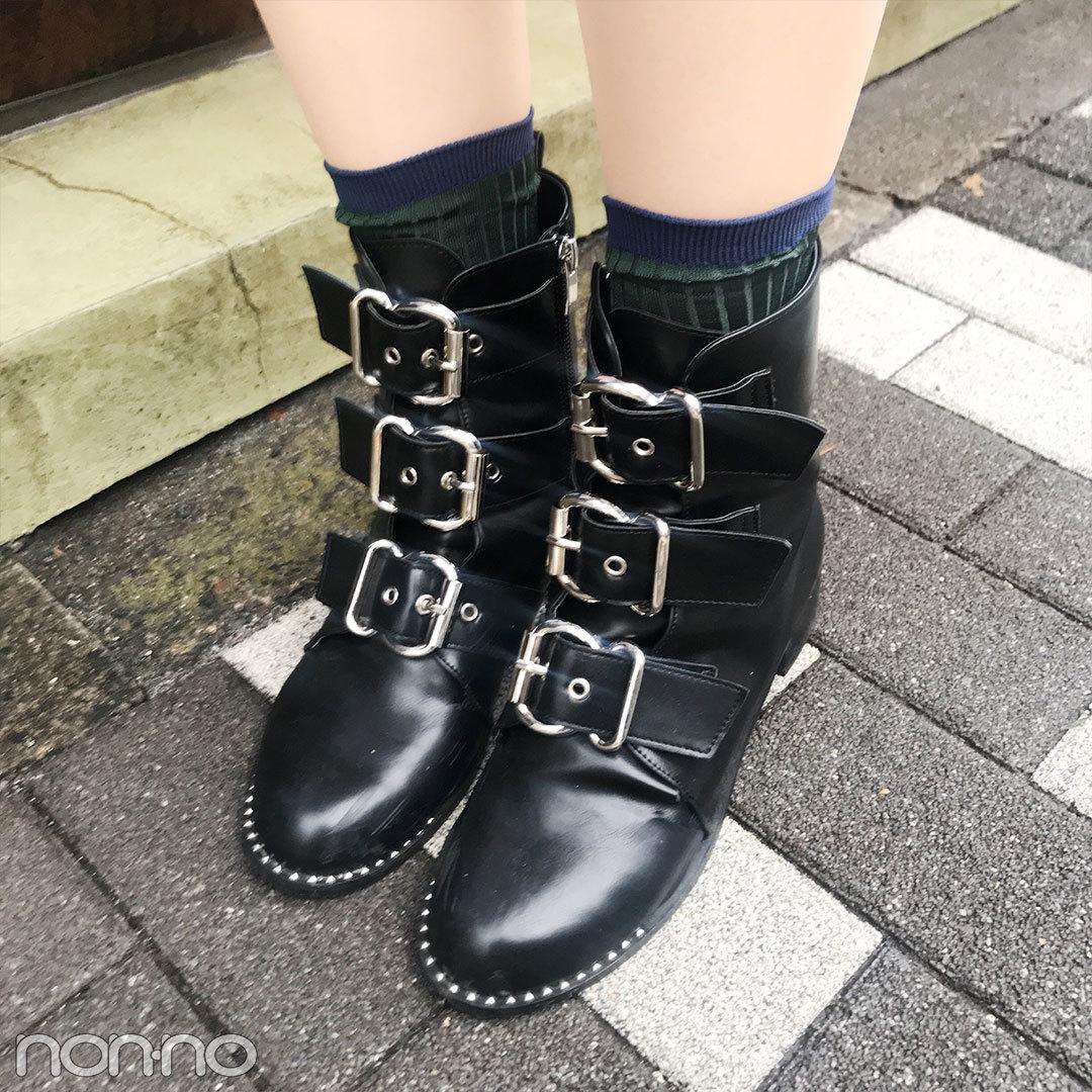 本日の江野沢愛美は韓国のメンズ風コーデ。美脚生かしのミニ+ブーツがクール!【モデルの私服スナップ】_1_2-1