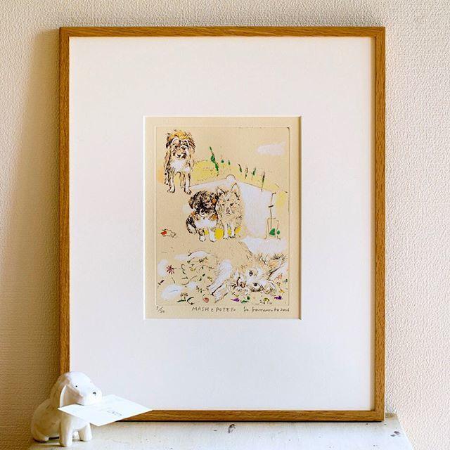 家に飾りたい、山本容子さんの銅版画_1_4