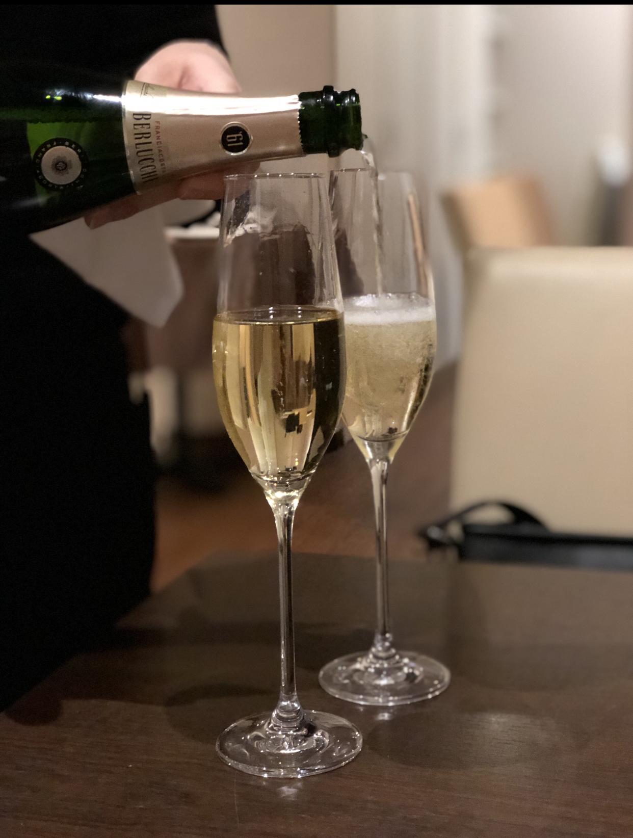 イタリアの最高峰発泡ワイン『フランチャコルタ』で乾杯☆_1_1