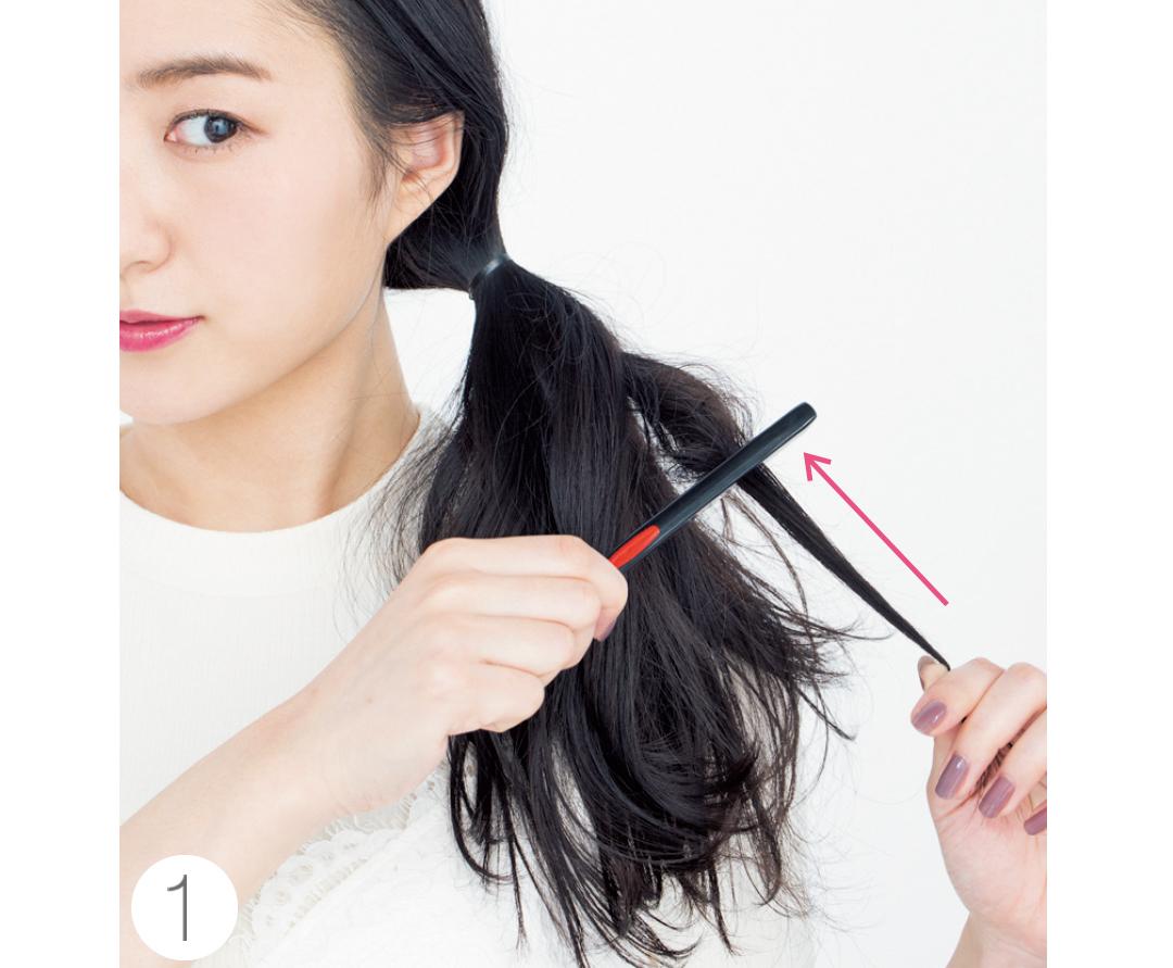 「逆毛をたてる」ってどうやるの? 【ヘアアレンジの小悩み解決】_1_1