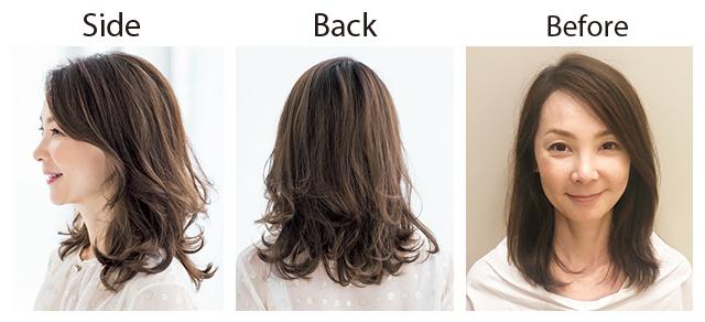 【1カ月前】まずはサロンでふんわりヘア仕込み!【同窓会までに髪のボリュームアップ大作戦】_7_2