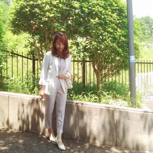 Jacket:Le.coeur blanc Setup:SENSE OF PLACE by U.R Shoes:モードエジャコモ