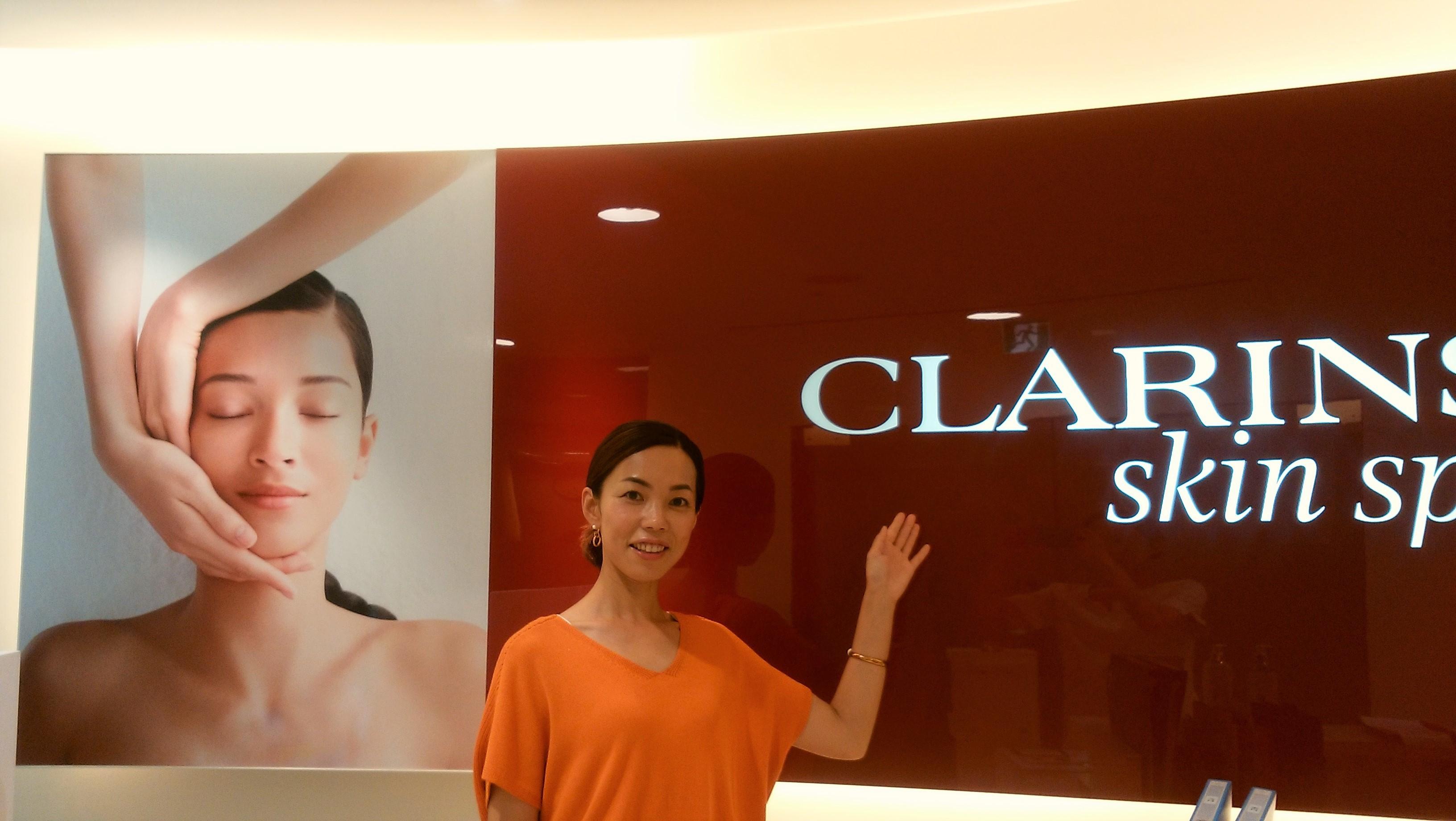 「CLARINS skin spa」 で夏のお肌のお手入れ♡_1_3