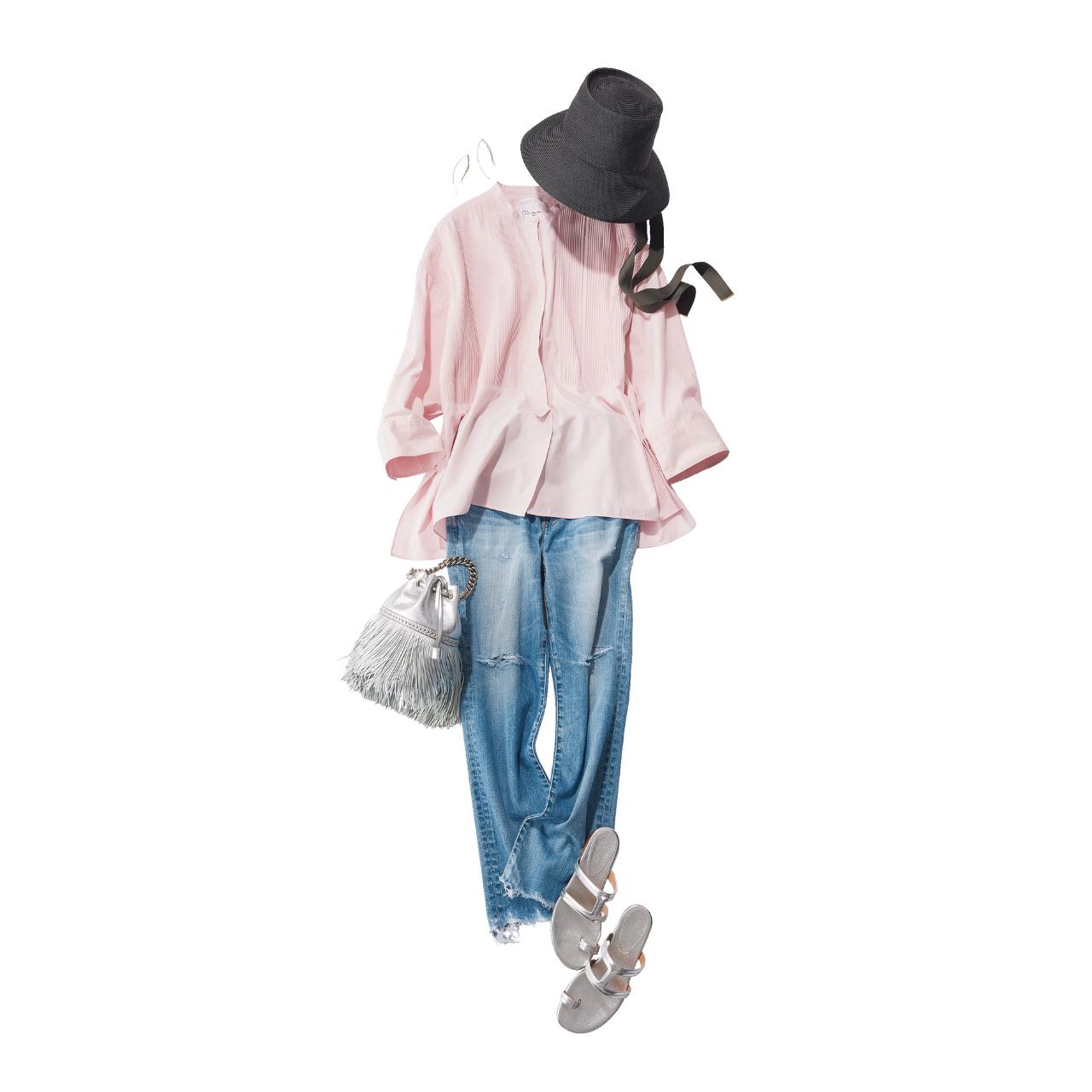 今こそデニムの更新に最適!アラフォーに似合う2021春夏デニムコーデまとめ|40代ファッション_1_2