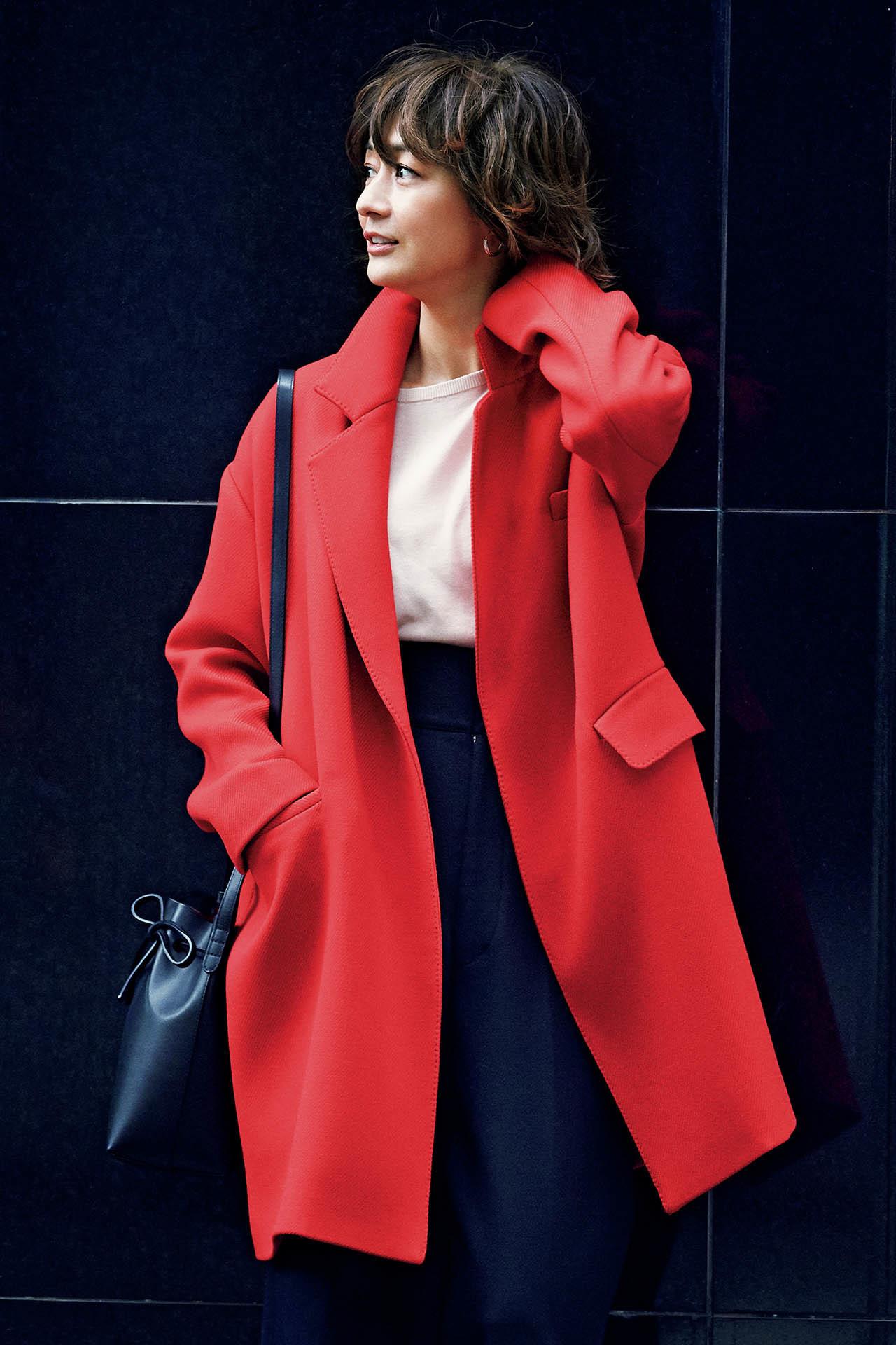 大人を元気に見せてくれる色、「赤」をまとって冬の街へ出かけよう! 五選_1_1-3