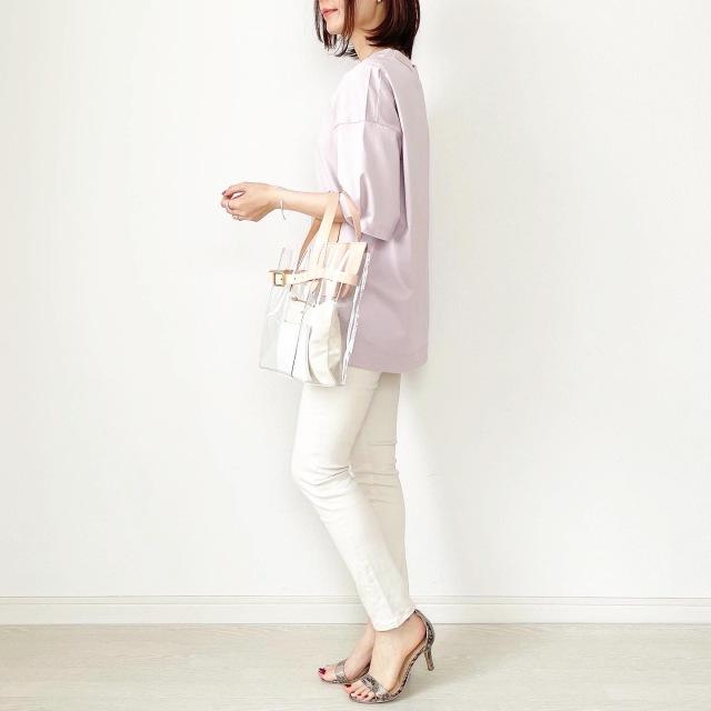 『UNIQLO+J』やっぱりこれが好き♡神Tシャツ着まわし【tomomiyuコーデ】_1_4
