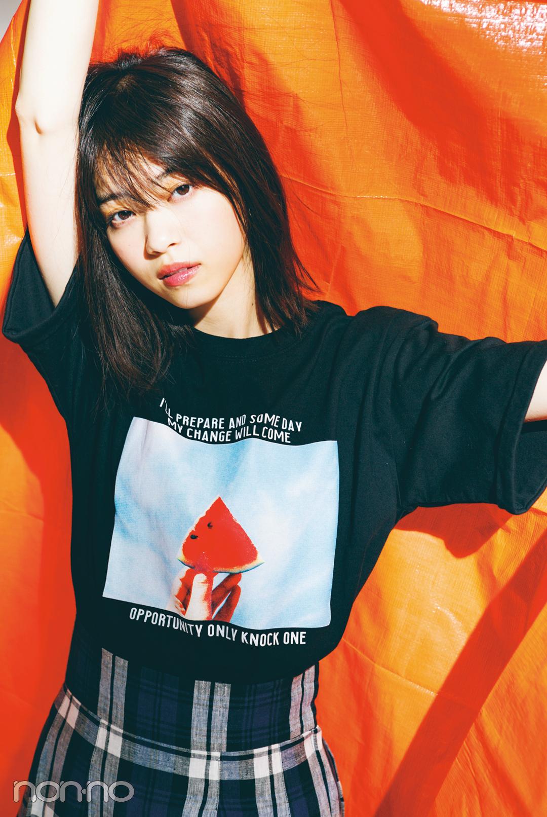 Tシャツなのに女っぽいの秘密★今季トレンドの正解教えます!_1_6