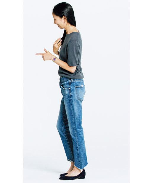 私にぴったりの一本を探して! 噂のデニムを美女組さんが履き比べてみました_1_4-2