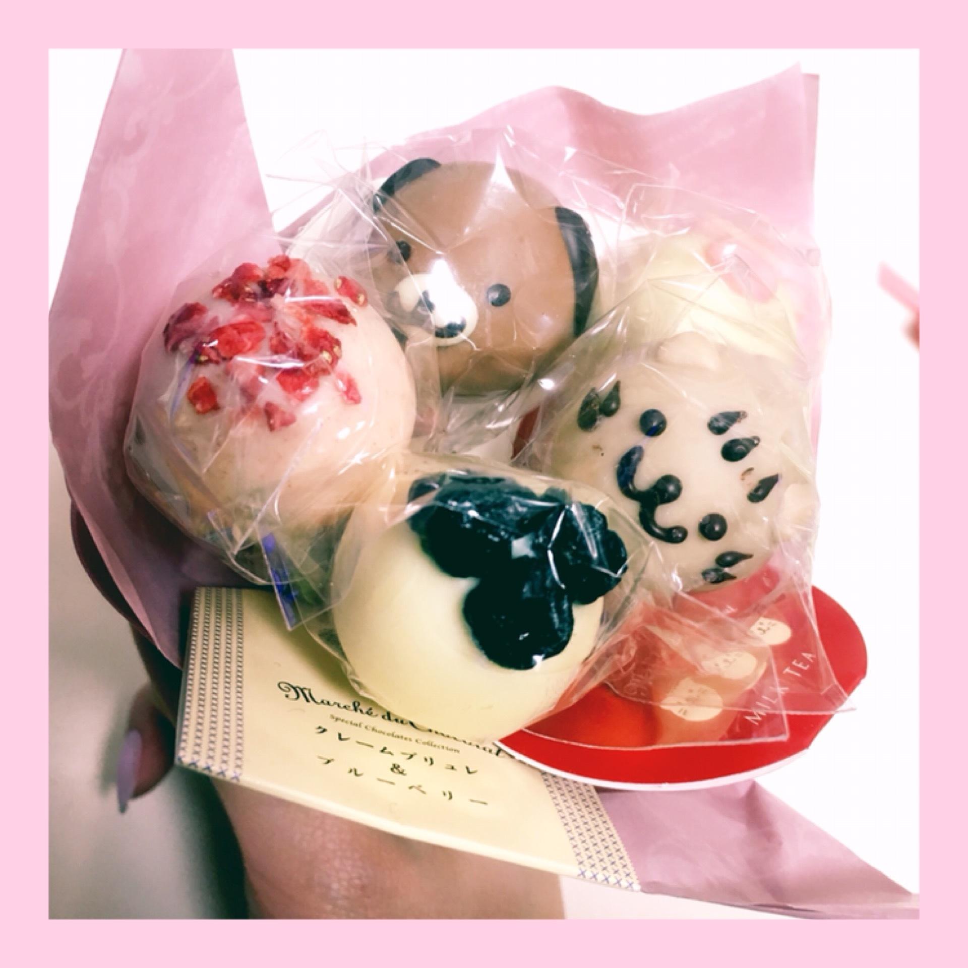 贈物にも最適♡ 花束みたいな『 lollipop chocolate 』♩¨̮⑅_1_2-1