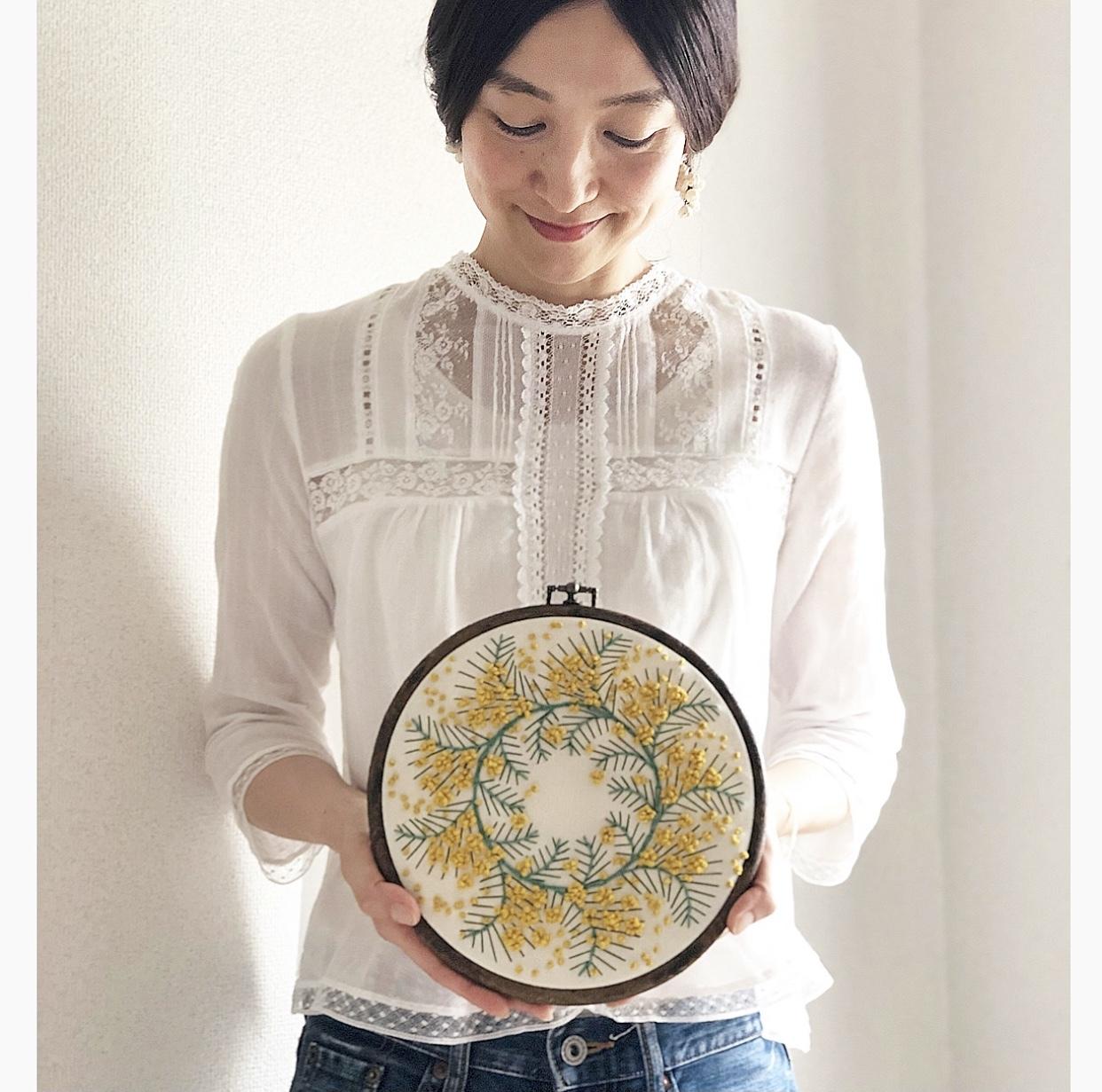 ZARA刺繍レースブラウス+デニム♡_1_5