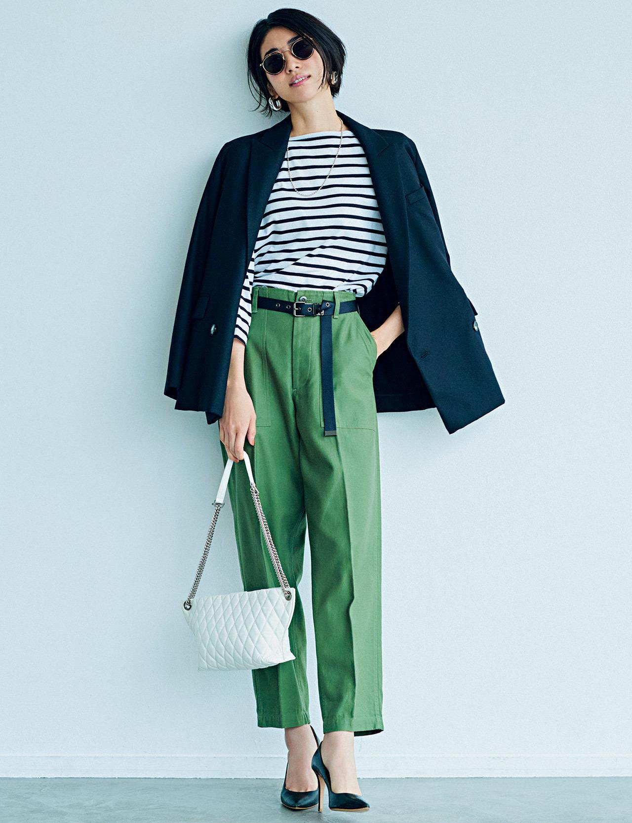 平均気温25度の初秋にベストな服装は? 季節の変わり目に着たいコーデ|40代ファッションまとめ_1_8