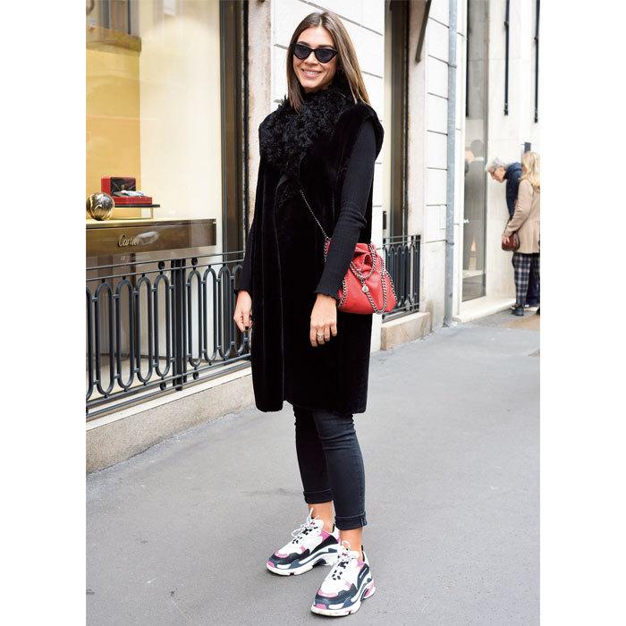 スニーカーはハイテクとスマートが人気を二分【ファッションSNAP パリ・ミラノ編】_1_1-1