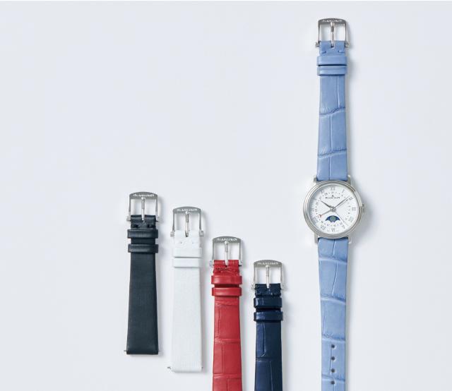 ブランパンの時計「ヴィルレ デイト ムーンフェイズ」