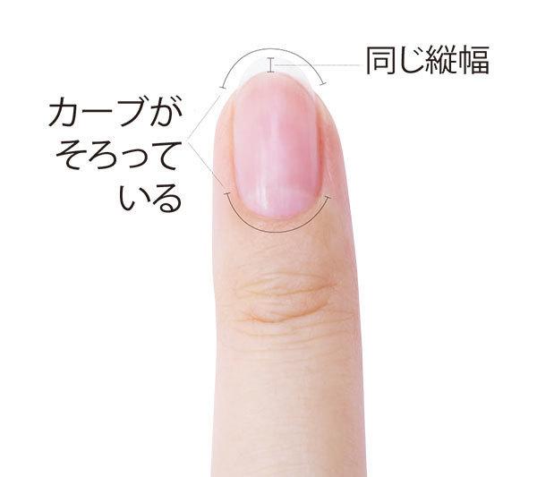 爪の美バランス