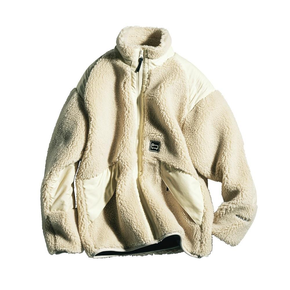 ファッション ウールリッチのフリースジャケット