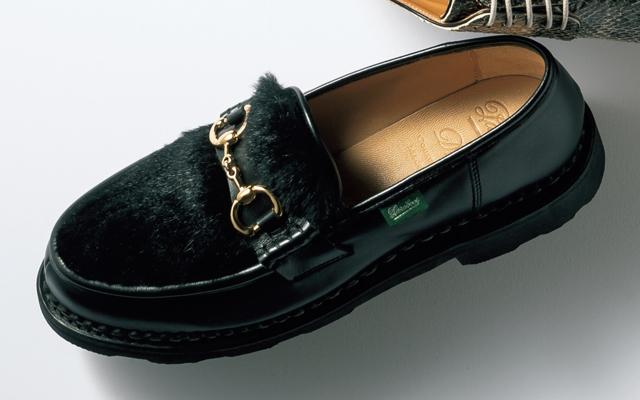 パラブーツ フォー ドゥロワーの靴