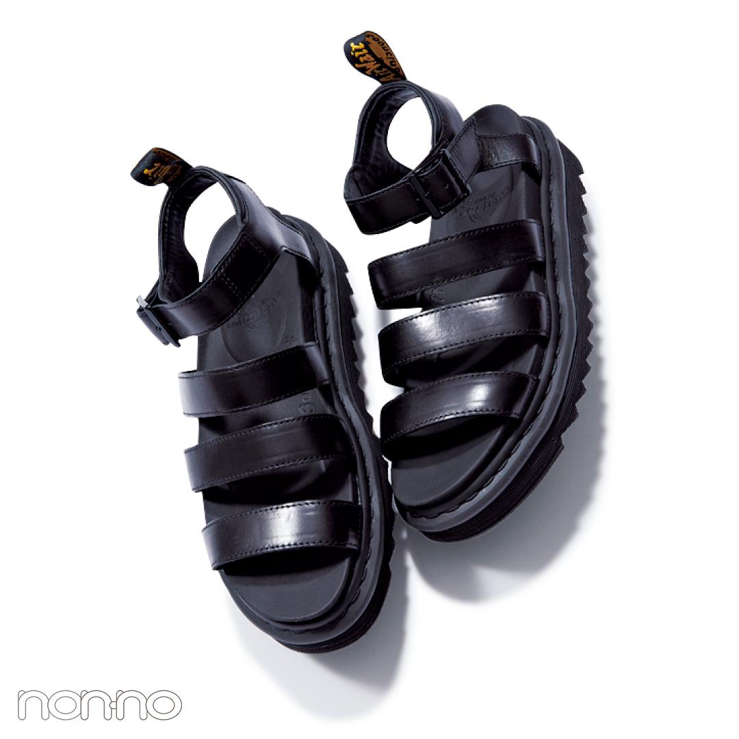 サンダル2019★楽ちんフットベッドサンダル、靴下コーデの正解教えます!_1_4-3