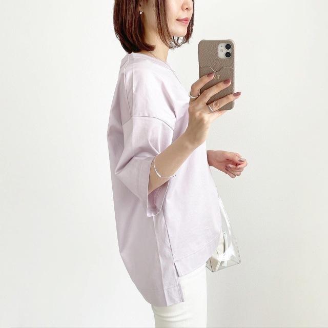 『UNIQLO+J』やっぱりこれが好き♡神Tシャツ着まわし【tomomiyuコーデ】_1_2