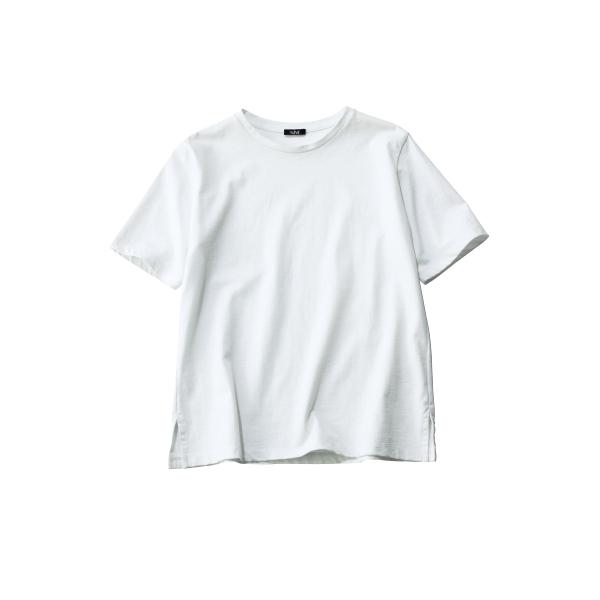 インナーいらずがポイント、大人の女性に似合うイレーヴの絶賛Tシャツ_1_2
