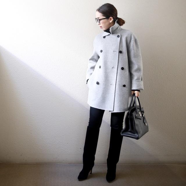 身長低めさんに嬉しいトレンド「ショート丈コート」! 今年の特徴&着こなしのコツは?【小柄バランスコーデ術#02】_1_4