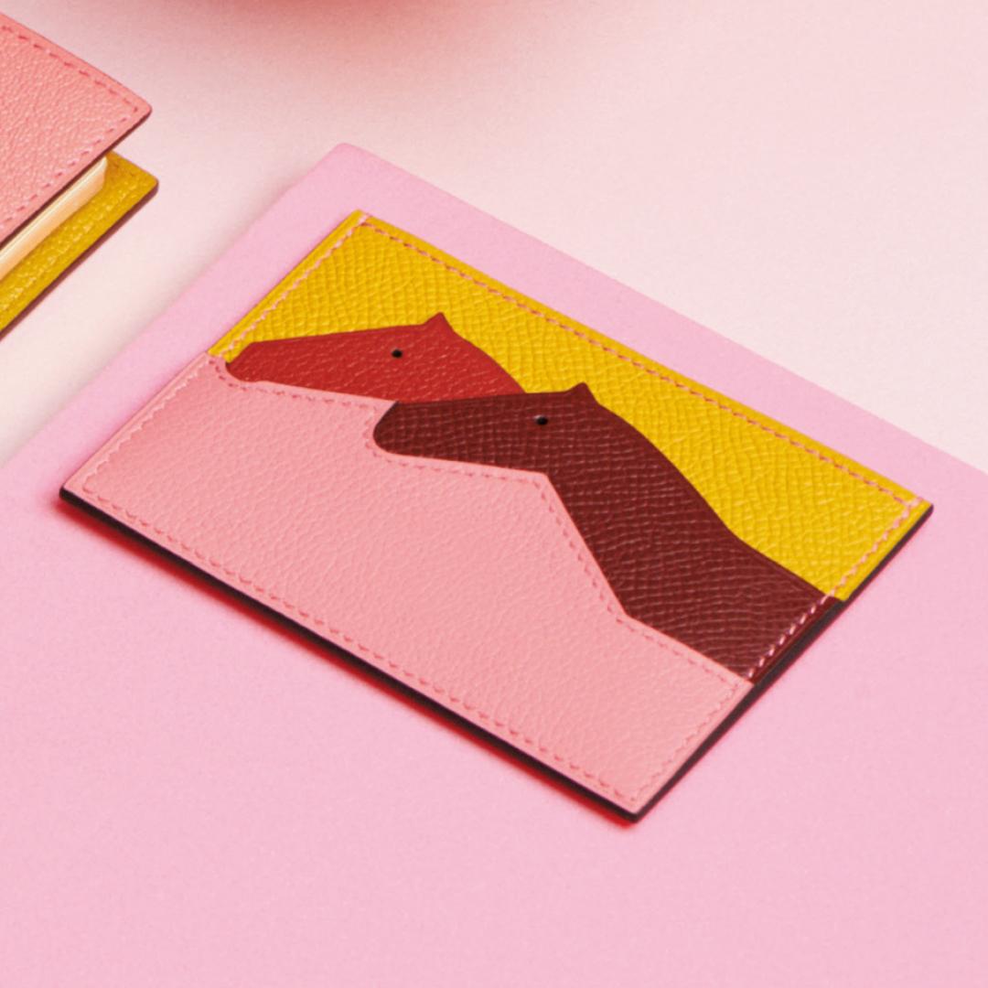 プティ・シュヴォー|エルメス カードケース