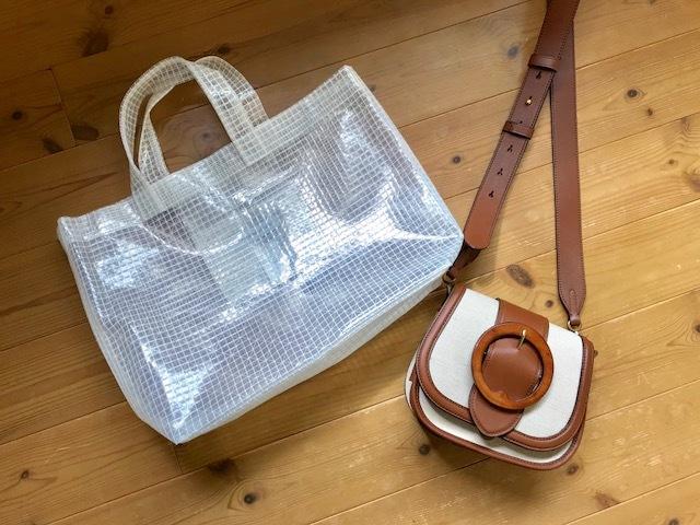 サブバッグはシンプルワン・ツーにぴったりなスポカジ、PVCバッグ♡_1_2-1