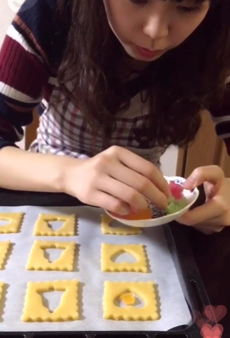 クリスマスにぴったり!ステンドグラスクッキー♪( ´▽`)_1_2