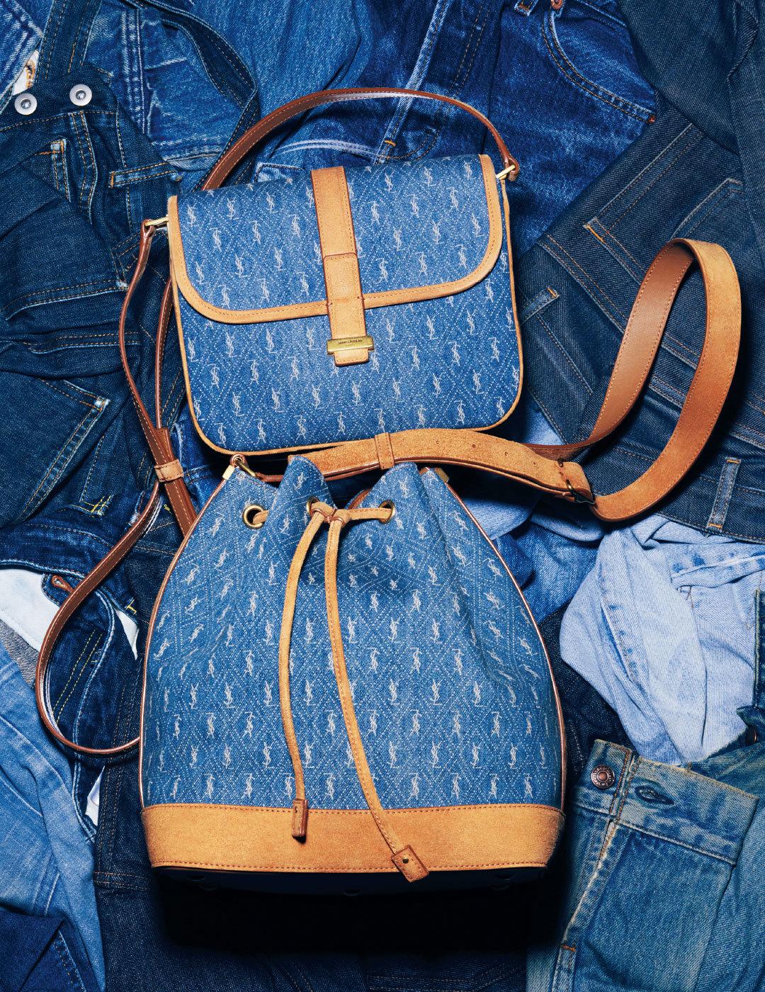サンローランの人気モノグラムシリーズのバッグにデニムコレクションが登場♡【Fashion Scoop!】_1_2