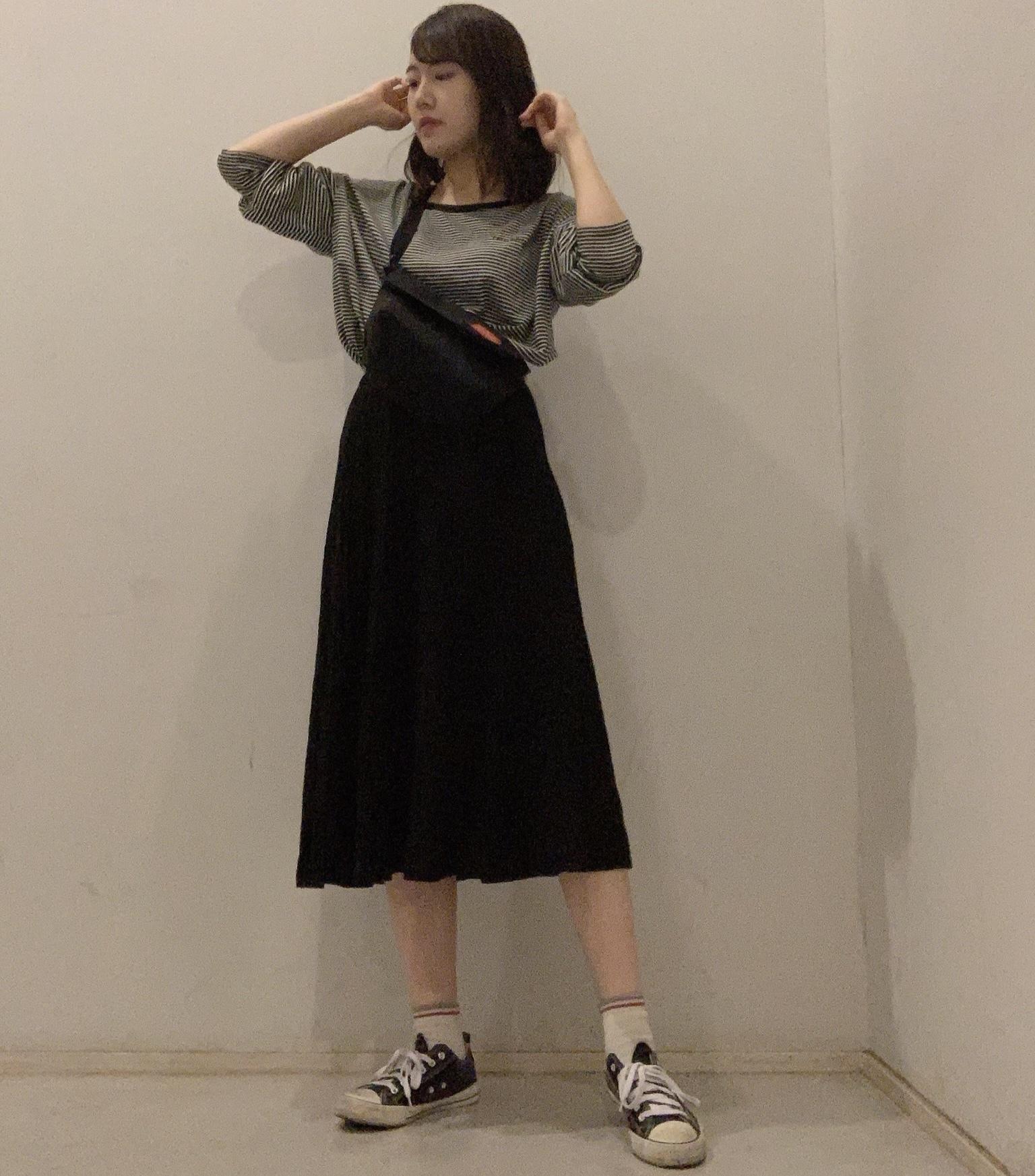【学校コーデ】ワントーンでゆるっとずるっとな今日の服。_1_2
